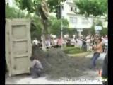 คลิป อุบัติเหตุ รถชน มอเตอร์ไซค์ ทับ ชน อันตราย น่ากลัว สยอง