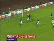 Croatia 2-0 Estonia