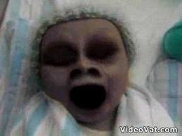 คลิป เด็กผี ทารก