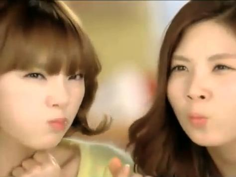 SNSD CF + NG Cut for Domino Pizza (น่ารักๆ)