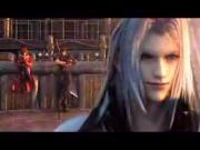 FF7 Crisis Core - Sephiroth VS Ageal And Genesis