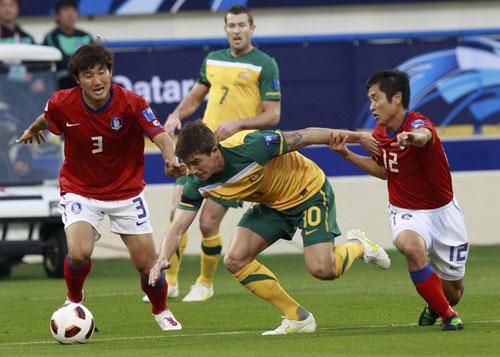 คลิป ออสเตรเลีย 1-1 เกาหลีใต้..เอเชียน คัพ