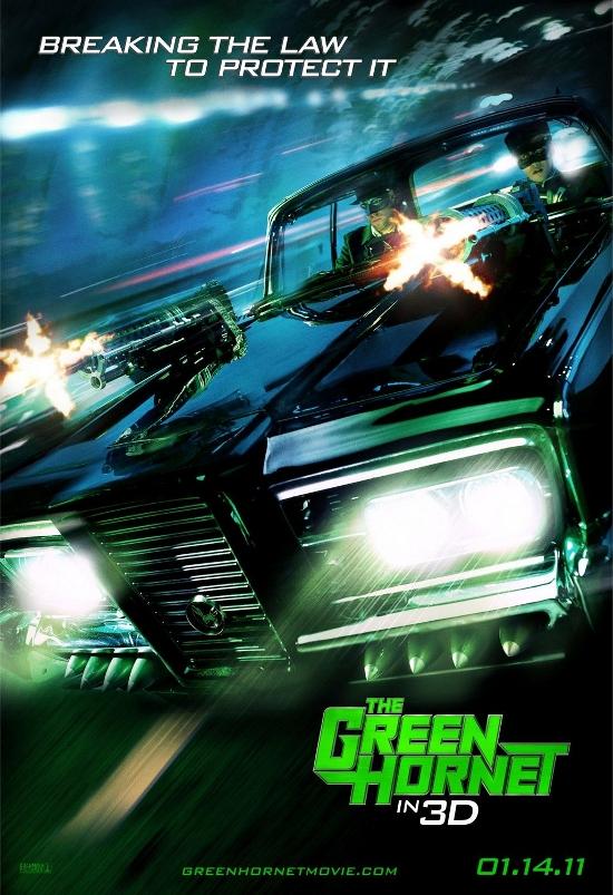 คลิป The Green Hornet หน้ากากแตนอาละวาด Trailer