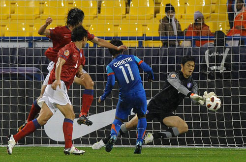คลิป เกาหลีใต้ 4-1 อินเดีย..เอเชียน คัพ