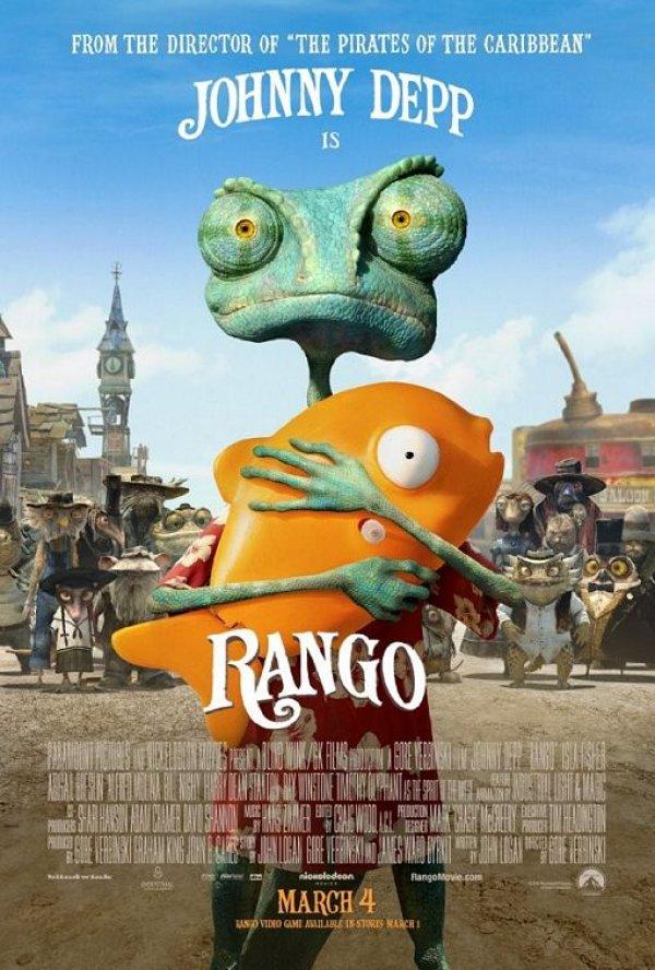 คลิป Rango แรงโก้ ฮีโร่ทะเลทราย Trailer