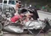คลิป อุบัติเหตสยอง รถชนตายหมู่ทั้งบ้าน