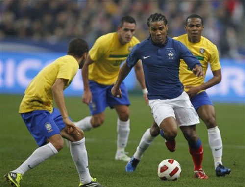 ฝรั่งเศส 1-0 บราซิล..ฟุตบอลกระชับมิตรทีมชาติ