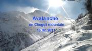 คลิป บันทึกภาพ หิมะถล่ม สวยๆ ที่ Cheget Mountain