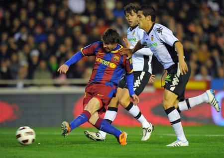 บาเลนเซีย 0-1 บาร์เซโลน่า..ลาลีกา สเปน
