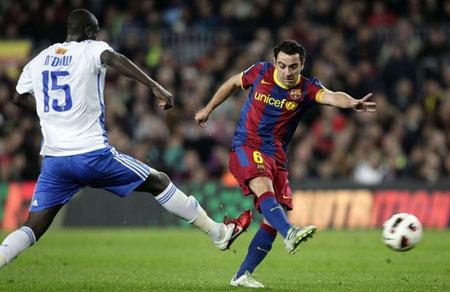 บาร์เซโลน่า 1-0 รีล ซาราโกซ่า..ลาลีกา สเปน