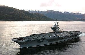 USS Ronald Reagan เรือบรรทุกเครื่องบิน เรือรบ