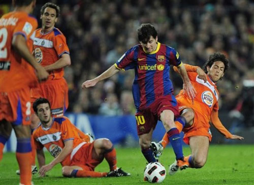 บาร์เซโลน่า 2-1 เกตาเฟ่..ลา ลีกา สเปน