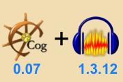 คลิป monkey's audio เปิดไฟล์ape เล่นไฟล์ape แปลงไฟล์apeเป็นmp3 แปลงapeเป็นmp3 cog0.07 cog audacity