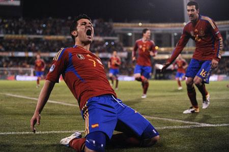 สเปน 2-1 สาธารณรัฐเช็ก..ฟุตบอลยูโร 2012 รอบคัดเลือกกลุ่ม ไอ