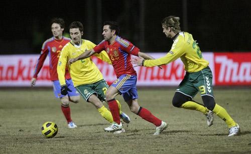 คลิป ลิทัวเนีย 1-3 สเปน..ยูโร 2012 รอบคัดเลือก กลุ่ม ไอ