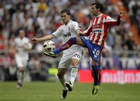 คลิป รีล มาดริด 0-1 สปอร์ติ้ง คิฆอน..ลาลีกา สเปน