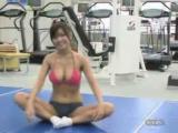สุดเซ๊กซี่ สาวญี่ปุ่นออกกำลังกายจนนมหก
