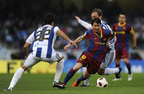 รีล โซเซียดัด 2-1 บาร์เซโลน่า..ลา ลีกา สเปน