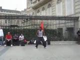 คลิป ป๊อปปิ้งข้างถนน ลีลาการ เต้นป๊อปปิ้ง ระดับเทพ