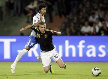 อาเซอร์ไบจาน 1:3 เยอรมัน..ฟุตบอลยูโร 2012 รอบคัดเลือกกลุ่ม A