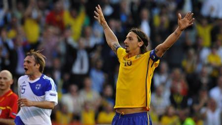 สวีเดน 5:0 ฟินแลนด์..ฟุตบอลยูโร 2012 รอบคัดเลือกกลุ่ม E