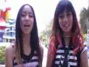 คลิป มิล่า ขนมจีน Mila Meet  Greet แฟน คลับ สวนสยาม เครื่องเล่น สุด หวาด เสียว เพลง MV
