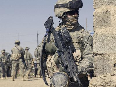 คลิป Us Army สงคราม รบ ยิง กองทัพ ทหาร  อิรัก อินฟาเรต