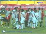 คลิป  โหด กีฬา ฟุตบอล เยาวชน บราซิล กระโดด ถีบ กังฟู ใส่หลังคอคู่แข่ง