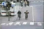 คลิป เมื่อรถจักรยานเบรคติด ตีลังกา