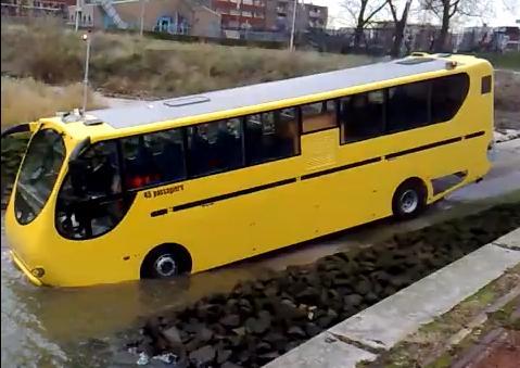 คลิป amphibian bus