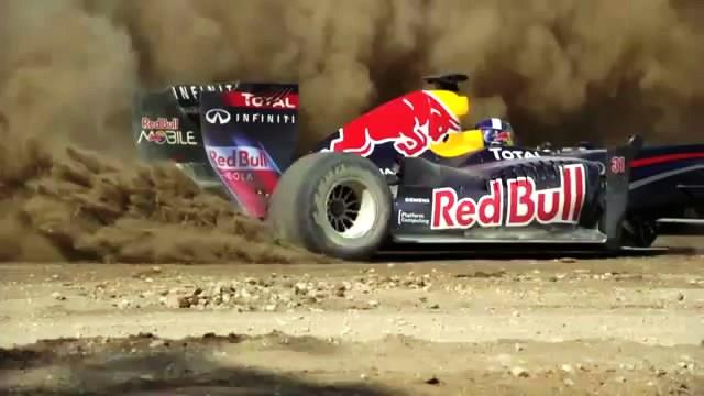 สุดเจ๋ง สวย รถแข่ง Formula1 F1 Texas 2012 Red Bull เรด บูล Demo โฆษณา