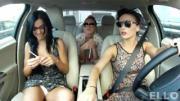 คลิป คลิปลับสามสาวรัสเชียสวยขาวโอโม่ เล่นสนุกในรถ