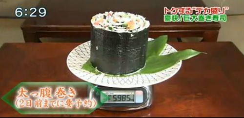 สุโก้ยยย..! ญี่ปุ่นทุบสถิติซูชิชิ้นใหญ่ที่สุดในโลก