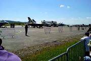 เครื่องบินรบ เครื่องบินขับไล่ f-16 French Airshow