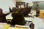 นักเรียนหญิงญี่ปุ่น หน้าไหว้ หลังหลอก