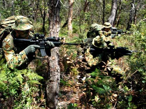 SASR หน่วยรบพิเศษ กองกำลังพิเศษ ทหาร ออสเตรเลีย