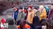 [BLOCK HOME] 111123 Block B dancing to Roly Poly FANCAM