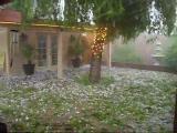 คลิป ลูกเห็บตก พายุลูกเห็บ ลูกเห็บ น่ากลัว น่ากลัวมาก ระทึก Intense Hail Storm ถ่ายภาพ
