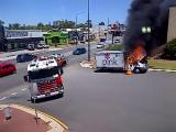 รถไฟไหม้ ไฟไหม้รถ รถดับเพลิง รถไหล ระทึก ตลก ขำขำ ฮา
