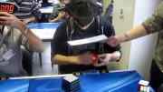 คลิป บันทึกสถิติโลก ปิดตาเล่นรูบิค ทำลายสถิติโลก สถิติโลก รูบิคขั้นเทพ Marcell Endrey โคตรเทพ โคตรเจ๋ง
