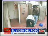 คลิป เหตุการณ์ปล้นแบงค์ใน Argentina