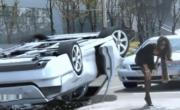 คลิป อุบัติเหตุ ประเทศเกาหลี สาวสวย ดวงซวย รถผลิกคว่ำ เกือบตาย ตลก เฮฮา คลายเครียด ขำๆ