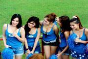 สาวเชียร์ไทยไม่แพ้ชาติใดในโลก
