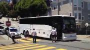 อุบัติเหตุ, รถบัสกูเกิ้ล, ติดเนิน, กลางถนน
