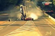อุบัติเหตุ รถยนต์ รถแข่ง รายการเลอม็อง 2012 ฝรั่งเศส เฟอร์รารี่ ปะทะ โตโยต้า แหล