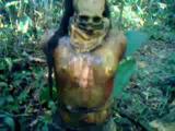 คลิป เจอศพฆ่าโหด! มัดมือไขว่หลังในป่าลึก