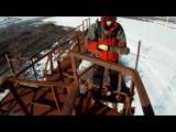 คลิป กระโดดหอสูง 400 ฟุต ร่มไม่กาง บาดเจ็บสาหัส