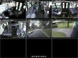 คลิป รถบัส หลุดโค้งชนบ้าน แบบ 6 มุมมอง