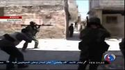 คลิป กองทัพซีเรีย ทลายแหล่งกบดาน ของกฎบซีเรีย