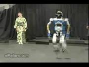robot หุ่นยนต์ dancer